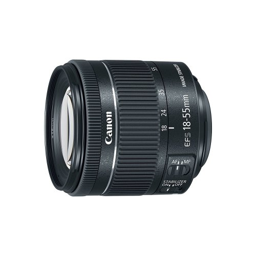CANON EF-S 18-55mm F4-5.6 IS STM Black (White Box)