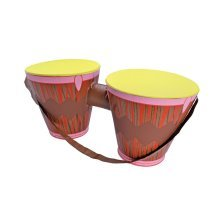 Inflatable Bongo Drums Decoration - Fancy Dress Accessory Party Hawaiian -  inflatable fancy dress bongo drums accessory party hawaiian
