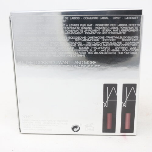 (Cool Nudes) Nars Narsissist Wanted Power Pack Lip Kit  / New With Box