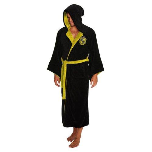 Harry Potter Hufflepuff Wizard Fleece Dressing Gown