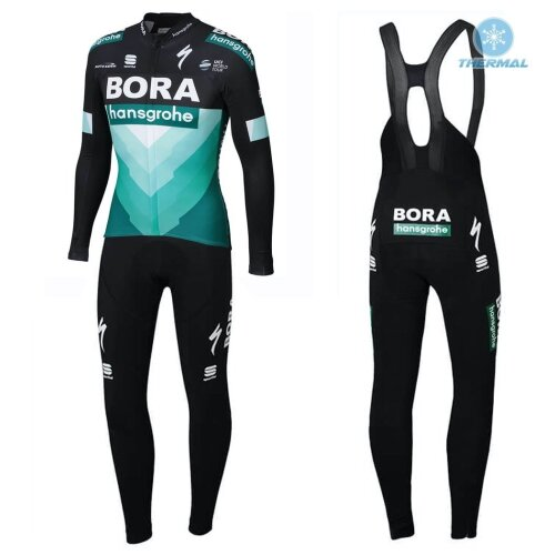 2019 Bora Thermal Cycling Jersey And Bib Pants Set