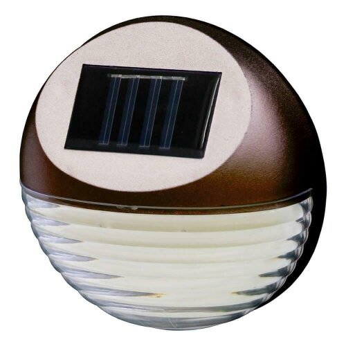Solar Powered Led Garden Fence Wall Lights Patio Security Lamps 10pk G-0171