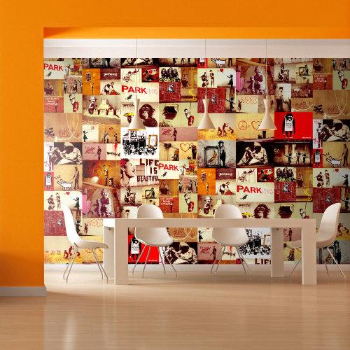Wallpaper - Collage - Banksy