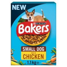 Bakers Small Dog Chicken And Vegetables 1.1Kg - Case of 4 (4.4Kg)