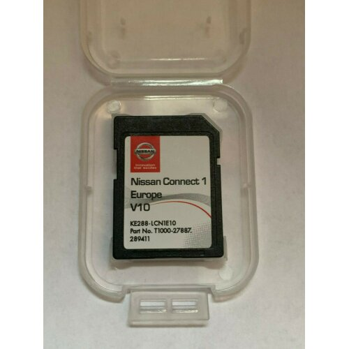 NEW! GENUINE NISSAN CONNECT 1 V10 MAPS LATEST SAT NAV SD CARD 2020