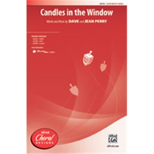 Alfred 00-39800 CANDLES IN THE WINDOW-STRX CD