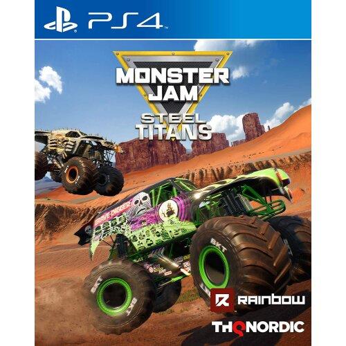 Monster Jam: Steel Titans PS4 Game