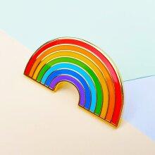 Mystery Pins Rainbow Pin Badge