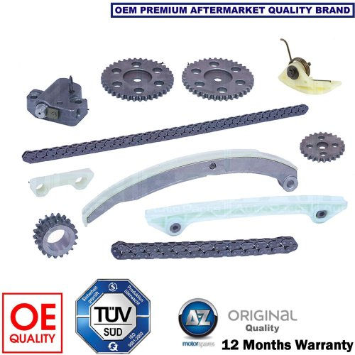 FOR FORD FIESTA ST150 2.0 N4JB 3/2005-2008 NEW 11 PIECE TIMING CAM CHAIN KIT SET