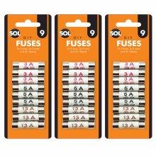 27pk Mixed Cartridge Fuse Set    Overcurrent Protection Device