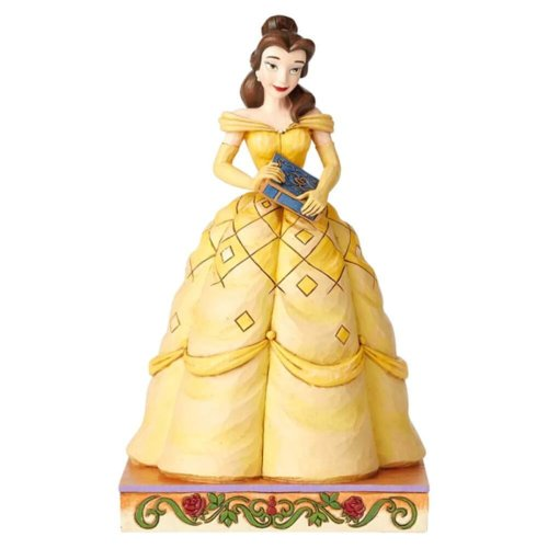 Disney Traditions Belle Princess Passion 'Book-Smart Beauty' Figurine