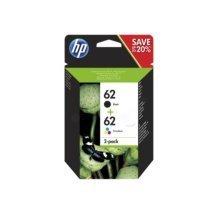 HP N9J71AE (62) Printhead multi pack, 200pg + 165pg, Pack qty 2