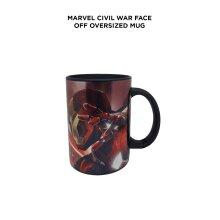 Marvel Civil War Face Off oversized Mug