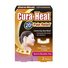Cura-Heat Neck and Shoulder Pain - 2 Heat Patches