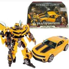 Transformers Bumblebee Robot Truck Figures Kid Toy