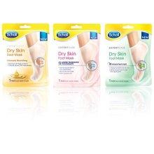 Scholl 3 pack Footmask -Triple Oil, Fragrance Free & Dry Skin