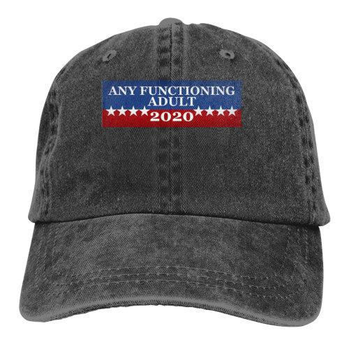 Any Functioning Adult 2020 Denim Baseball Caps