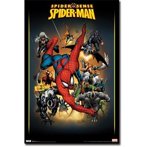 """Poster - Studio B - Spiderman - Adversaries 24""""x36"""" Wall Art p6680"""