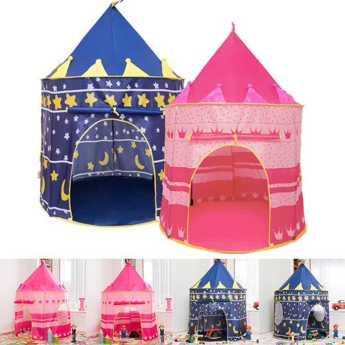 Children Kids Baby Pop Up Play Tent Fairy Princess Playhouse In&Outdoor