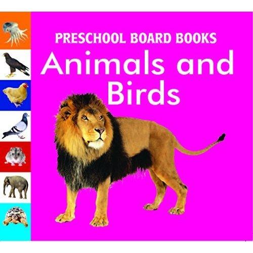 Animals & Birds (Preschool Board-Books)