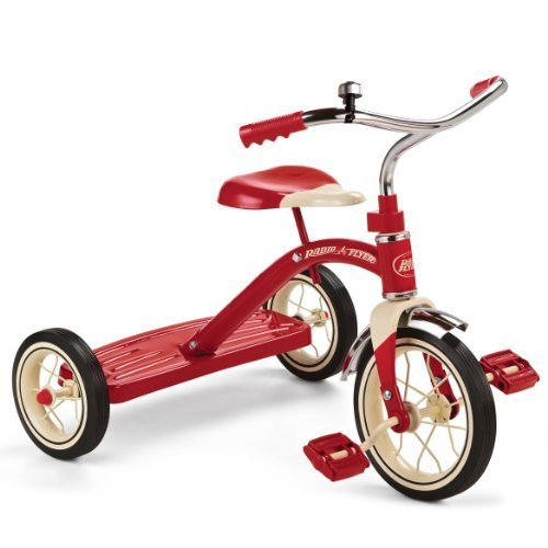 Radio Flyer Classic Red Tricycle 10 Inch