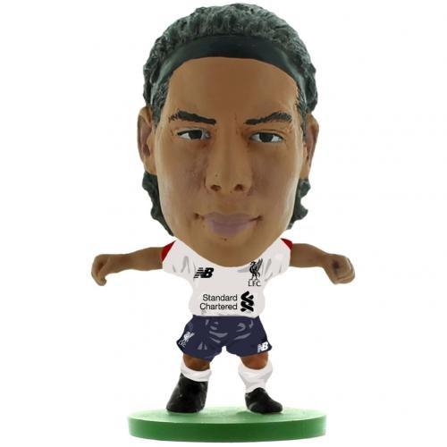 Liverpool F.C. Official SoccerStarz Figure Van Dijk Away