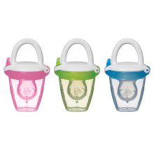 Munchkin Baby Toddler Fresh Food Feeder Green/Blue/Pink