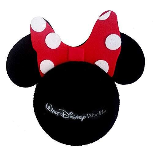 Access-All-Areas Minnie Mouse Black Red White Bow Aerial Ball Topper Car Locator Finder Mother's Day Girl Birthday Gift