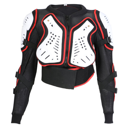 (Age 8) Childrens Kids Body CE Approved Armour Protection Jacket Skiing MX Quad MTB ATV