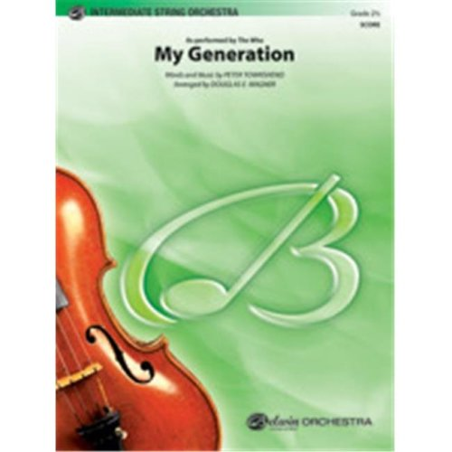 Alfred 00-40502 MY GENERATION-PIS