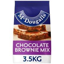 McDougalls Chocolate Brownie Mix - 1x3.5kg