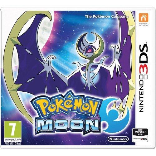 Pokemon Moon Nintendo 3DS Game