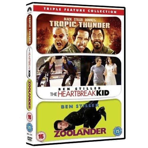 Tropic Thunder / Zoolander / Hearbreak Kid DVD [2009]