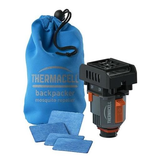 Thermacell THE-02163 Backpacker Moquito Repeller with 4 Mats