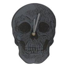Cabinet of Curiosities Skull Clock