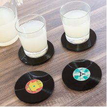 Coasters Disc (Pack of 4)