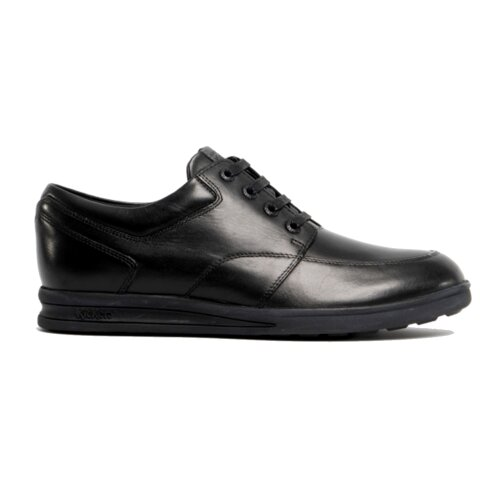 Kickers Troiko Lace Leather AM 114137 Mens Shoes Black School Work Lace Up Shoe