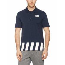 Puma RBR RedBull Racing F1 Mens Sports Polo Tee Shirt Navy Blue