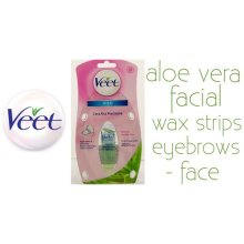 Veet Viso Aloe Vera Facial Wax Strips