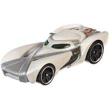 Hot Wheels Star Wars Character Car, Rey By Mattel