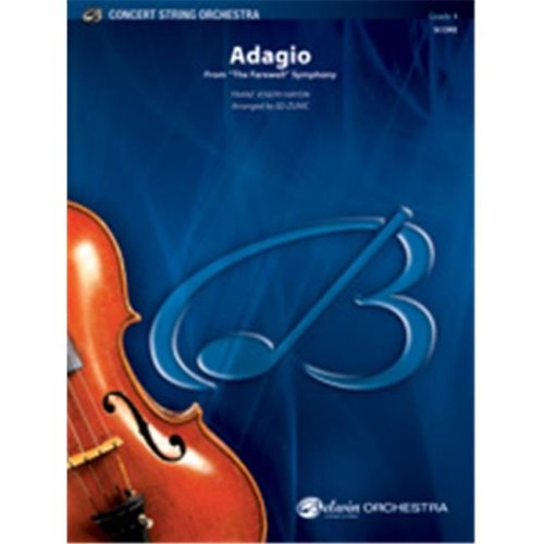 Alfred 00-35936 ADAGIO-FAREWELL SYMPHONY-BCS SET4D