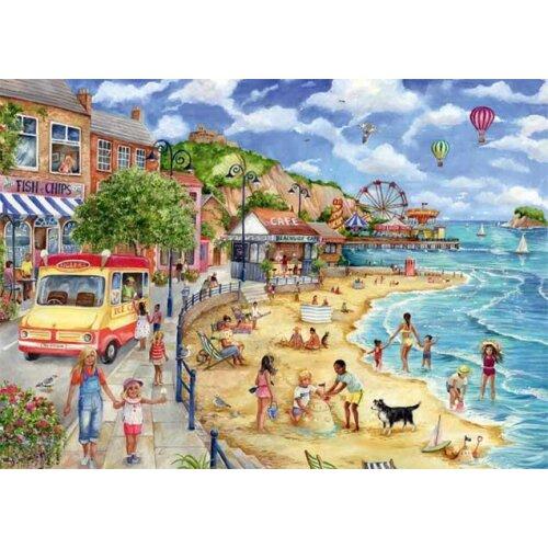 Falcon Deluxe Seaside Promenade Jigsaw Puzzle (1000 Pieces)