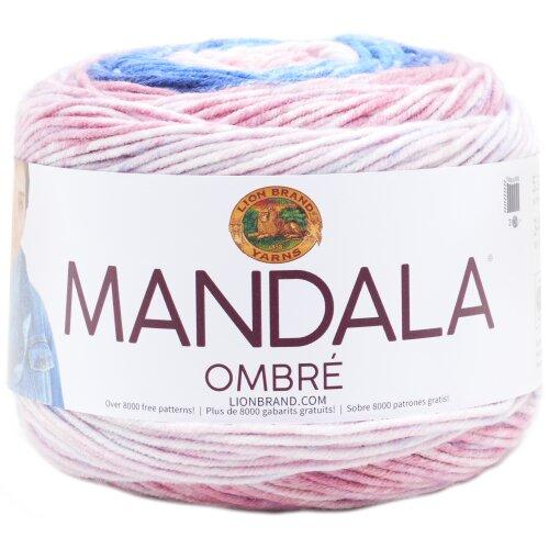 Lion Brand Mandala Ombre Yarn-Pure