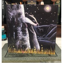 The Last Full Moon Greetings card by Hannah Willow