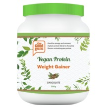 Vegan Weight Gainer Chocolate Protein Powder, Pea Protein, Plant-Based