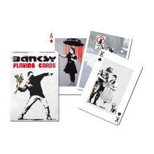 Banksy set of 52 playing cards + jokers
