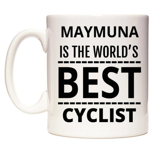 MAYMUNA Is The World's BEST Cyclist Mug