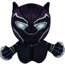 Black Panther 820300 8 in. Marvel Black Panther Kuricha Sitting Plush Doll