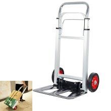 Heavy Duty Foldable Hand Truck Barrow Cart Wheel Trolley Load 90kg