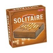 Wooden Classic Solitaire (tactic Games)